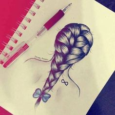 creative drawing <3 Hair <3