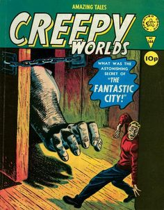 Cover for Creepy Worlds (Alan Class, 1962 series) #144