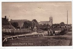 NORFOLK, OUTWELL, CHURCH AND SLUICE, 1906 | eBay