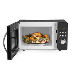 Tower Digital Solo Microwave with 5 Power Levels, 20 Litre, 800 W, Black Microwave Oven, Tower, Kitchen Appliances, Amazon, Digital, Black, Diy Kitchen Appliances, Rook, Home Appliances