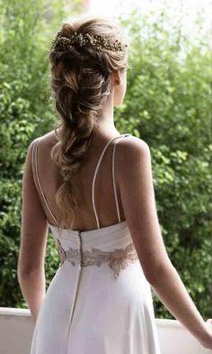 9 stunning wedding hairstyles for the elegant bride 9 Baddie Hairstyles, Summer Hairstyles, Braided Hairstyles, Wedding Hairstyles, Bridesmaid Hair, Prom Hair, Make Up Braut, Wedding Hair Inspiration, Braut Make-up