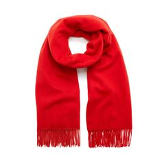 Shop the Lambswool Scarf in Fiery Red Lambswool at Mulberry.com. Throw this beautifully soft Lambswool scarf on when the days get chillier or the nights draw in.