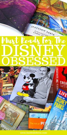 Calling all Disney lovers, this list is for you! Summer reading just got a whole lot easier with these must reads. If you're Disney obsessed like me you'll want to check these out! Disney World Florida, Disney World Parks, Disney World Vacation, Disney Vacations, Disney World Tips And Tricks, Disney Tips, Disney Magic, Disney On A Budget, Disney Planning
