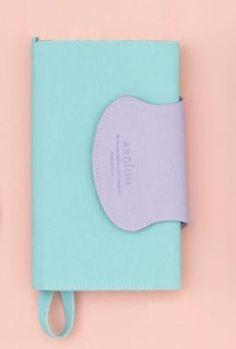 Wristlet - Forces of Nature Cell Phone Mint Lavender Wristlet