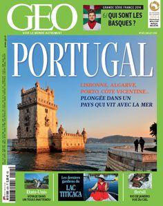 Le numéro de juillet de GEO vient de sortir ! Ce mois-ci, nous consacrons un grand dossier au #Portugal. Retrouvez l'édito et le sommaire complet de ce n°425 : http://www.geo.fr/en-kiosque/magazine-geo-special-portugal-n-425-juillet-2014-123316