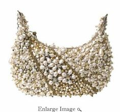 Mary Frances Mini Bag Sea of Pearls