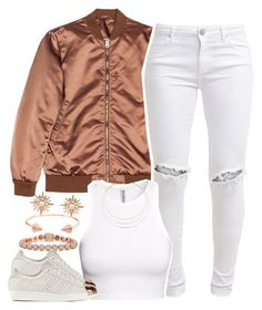 """Melo☺️"" by lulu-foreva ❤ liked on Polyvore featuring Acne Studios, FiveUnits, H&M, Eddie Borgo, adidas Originals, Sara Weinstock, CC SKYE and Ginette NY"