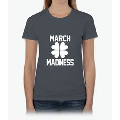 March Madness - St. Patrick's Day Womens T-Shirt