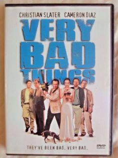Very Bad Things DVD 2002 Christian Slater Cameron Diaz Jon Favreau Dark Comedy