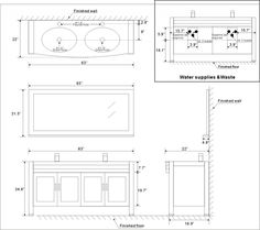 Bathroom Vanity Height Standard standard counter depth refrigerator | kitchen | pinterest