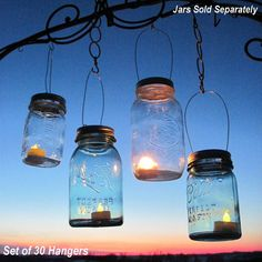 Ideas for lights... this looks like an easy DIY for my outdoor wedding!