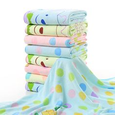 Buautiful 70*140cm Cartoon Bear Microfiber Fabric Four Season Bath Towel Cartoon Printed Quick Dry Bath Towel