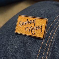 Sashay Away Fierce Gold Glitter 1.25 Hard by SabretoothDream