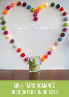 30 Cocktails in 30 Days – Day 20: the Caprioska