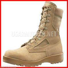 128308886b9d Made in USA Belleville 390 Desert Military Army Hot Weather Tan GI Combat  Boots | US