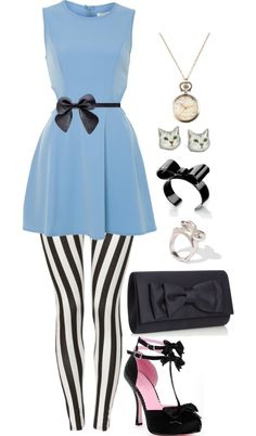 """modern alice!"" by deschae on Polyvore"