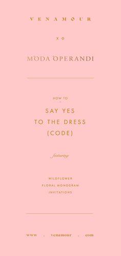 How to Decode the Dress Code – Moda Operandi
