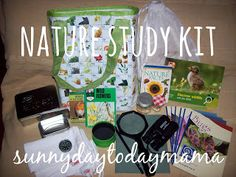 How to make your own Nature Study kit http://sunnydaytodaymama.blogspot.co.uk/2012/02/homemade-nature-study-kit-and-i-spy.html