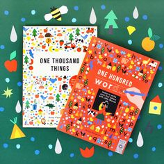 Words and things! A set of beautifully illustrated educational books - perfect for little boffins this Christmas: