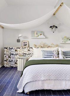 חדר ילדים נייטרלי מגדרית אמילי הנדרסון