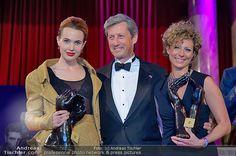 Charles Shaughnessy with MyAid winners at the Dancer Against Cancer Ball photo ©Andreas Tischler