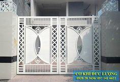 XƯỞNG CƠ KHÍ ĐỨC LƯỢNG Chuyên tư vấn, thiết kế, sản xuất và thi công các sản phẩm cơ khí trong ngành xây dựng. Door Gate Design, Window Grill Design, Railing Design, House Gate Design, Entrance Gates Design, Gate Designs Modern, Steel Door Design, Front Gate Design, Stair Railing Design