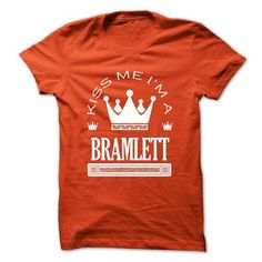 Kiss Me I Am BRAMLETT Queen Day 2015 - #couple gift #shirt for teens. OBTAIN LOWEST PRICE => https://www.sunfrog.com/Names/Kiss-Me-I-Am-BRAMLETT-Queen-Day-2015-mfwvtzjqtj.html?id=60505