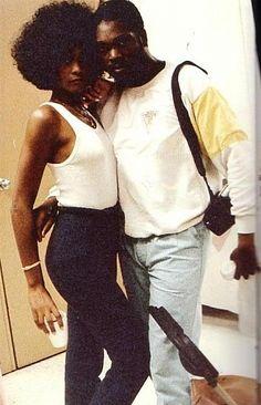 Rare Whitney Houston image!