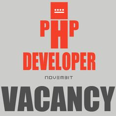 Vacancy for  PHP Developer