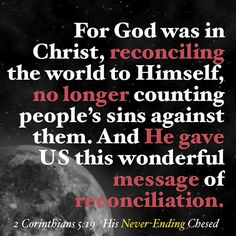 Thank you, Jesus, for being our perfect reconciliation! #redeemed #freedom #ChristIdentity #becauseofJesus #itsallaboutHim #icannotbutHEcan #IcannotbutHEdid #ItIsFinished #gospel #goodnews #faith #rest #believeandreceive #tooblessedtobestressed #blessed #grace #gracelife #Jesus #JesusChrist #God #Abba #reconciled #ChristInheritance #Christian #Amen #favor #righteousness #newcreation #2Corinthians