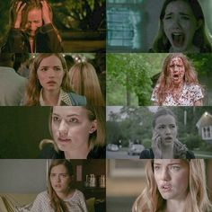 Okay I am sorry guys but i need to clarify things EMMA ISN'T Sidney,  they are both survival girls BUT THAT'S ALL Y'all need to stop criticising Emma,  telling she is boring,  because she isn't!! Tbh,  Emma went though more than Sidney (in Scream 1) okay?  Emma's family was targeted before,  the killer made her choose between her two best friends,  she found out her bff's dead body,  she saw a boyfriend being cut in half FOR GOD SAKE,  she had HIS BLOOD ON HER!!! She couldn't trust anyone…