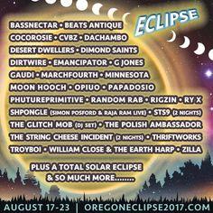 Listen - Oregon Eclipse 2017Oregon Eclipse 2017