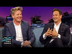 After James asks Josh Charles about his passion for cooking, Gordon explains why high stress levels are associated with chefs. Chef Gordon Ramsay, Michelin Star, Mindful Eating, Food Industry, Chefs, Restaurants, Stress, Dish, In This Moment