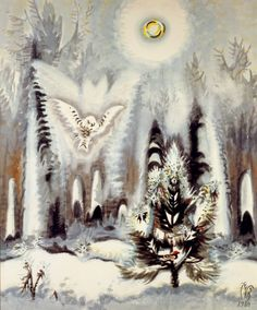 Charles Burchfield, watercolour
