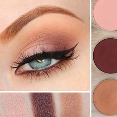 macshadowcombos Today's was inspired by FOOD! Well, I guess I was hungry when I created it judging by the names of these eyeshadows To create this look: Sorbet: on lid Cherry Cola: outer third of lid, outer v Creme Brûlée: crease Makeup Geek Eyeshadow, Eye Makeup, Makeup Art, Makeup Tips, Makeup Tutorials, Skin Tips, Bridal Make Up, Amazing Gardens, Makeup Inspiration