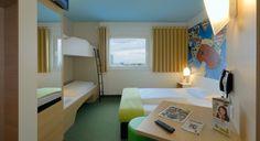 Familienzimmer für 4 Personen im B&B Hotel München City-West