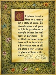 Christmas in the White House   A History  coolidge1927-224x300card