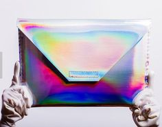 Pin for Later: 25 Holographic Products That Are Out of This World  Silver Holographic Laptop Case (starting at $68)