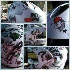 Custom helmat art