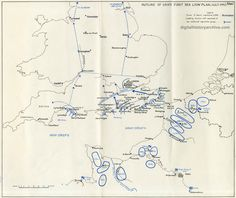 d day invasion map