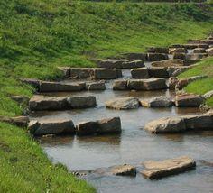 PAM - Vistrap in de Vlootbeek, Linne, Nederland Water Dam, Blue Hill, Water Management, Lawn And Garden, Water Features, Landscape Design, Sustainability, Restoration, Landscaping