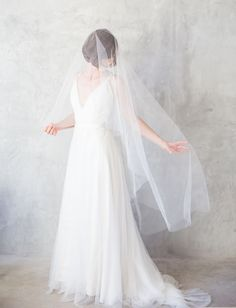 love this romantic veil