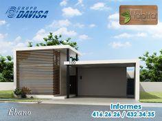 Modelo Ébano del #Fraccionamiento Hábita #Residencial. #Casas #Saltillo