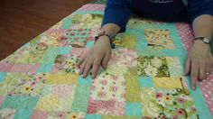 The Disappearing Nine Patch Quilt Block Will Make It Look Like You Did A Lot Of…