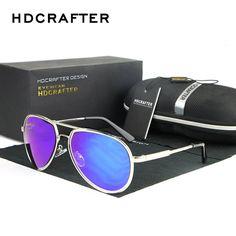 ecb1196b920 Fashion Sunglasses Men New Retro Oversized Sun Glasses for Man Oculos UV400  Eyewear HDCRAFTER 5 Colors