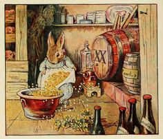 Cecily Parsley's Nursery Rhymes - Cecily Parsley lived in a pen, And brewed good ale for gentlemen;
