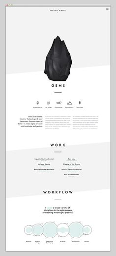 Websites We Love — Showcasing The Best in Web Design | http://weaintplastic.com/