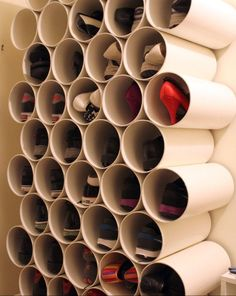 DIY PVC Pipe Shoe Organization. http://t.trusper.com/DIY-PVC-Pipe-Shoe-Organization/203146