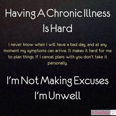 #Chronicillness #ChronicLife #Spoonie #ChronicPain #InvisibleIllness #SpoonieProblems #ChronicallyAwesome