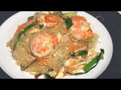 Stirfry glass noodles 炒冬粉 - YouTube